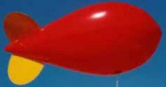 helium advertising blimp