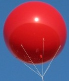 advertising balloon for promotions